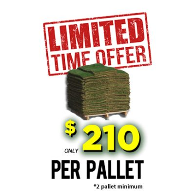Limited time offer for sod